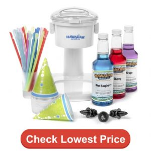 Hawaiian shaved ice S700 Snow Cone Machine & party package