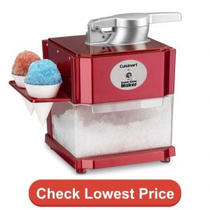 Cuisinart SCM-10 Snow Cone Maker Red