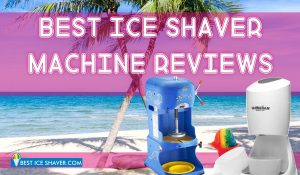 17 Best Ice Shaver Machine Reviews 2019