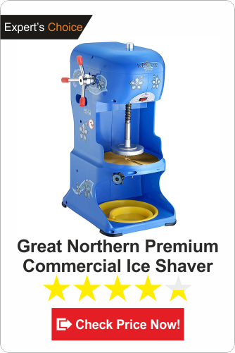 Great Northern Premium commercial ice shaver