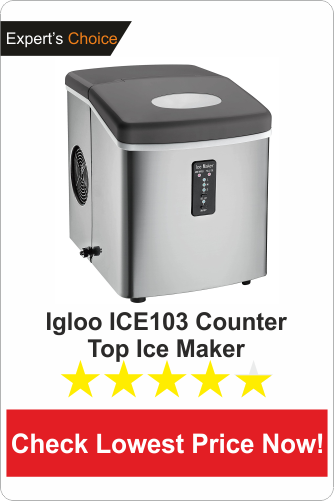 Igloo ICE103 Counter Top Ice Maker - best countertop portable icemaker