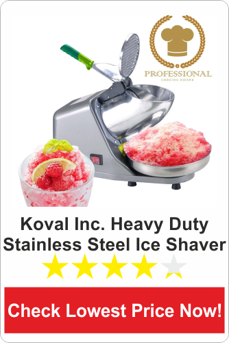 Koval Inc. Heavy Duty stainless steel ice shaver