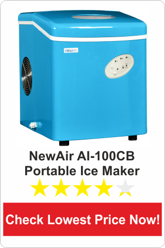 NewAir AI-100CB Portable Ice Maker
