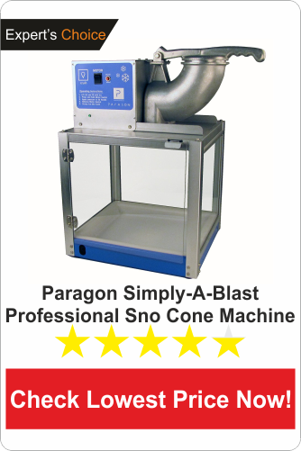 Paragon Simply-A-Blast professional sno cone machine-commercial ice shaver machine reviews