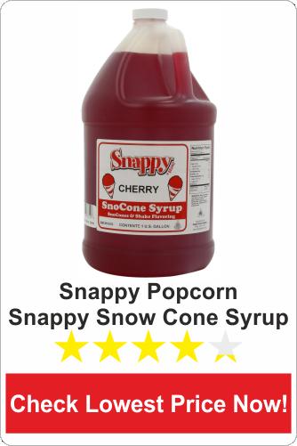 Snappy Popcorn Snappy Snow Cone Syrup