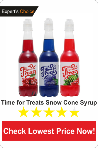 Time for Treats Snow Cone Syrup
