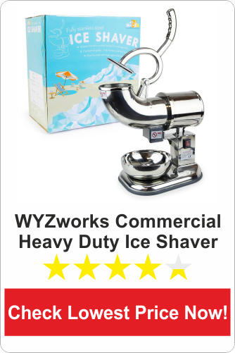 WYZworks Commercial heavy duty ice shaver