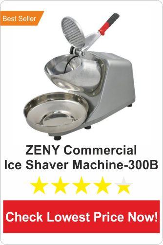 ZENY Ice Shaver Machine-300B- Best Commercial Ice Shaver Machine