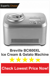 Breville BCI600XL-best Ice Cream & Gelato maker