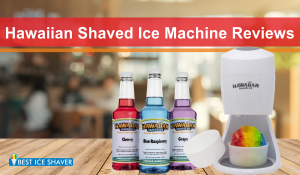 Hawaiian Shaved Ice Machine Reviews (2020)