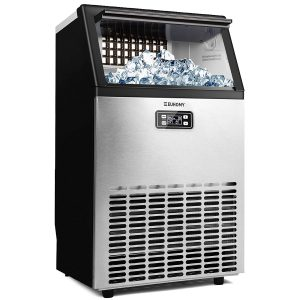 euhomy commercial nugget ice maker