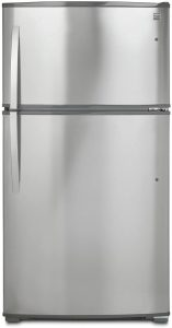 kenmore top freezer refrigerator with built in ice maker